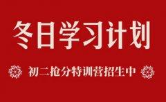 新课标教育上海新课标教育初二抢分特训营限时299元